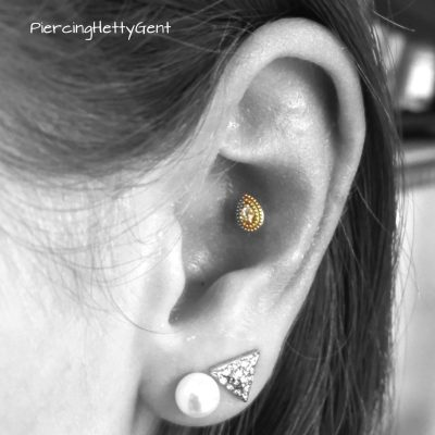 conch gold drop